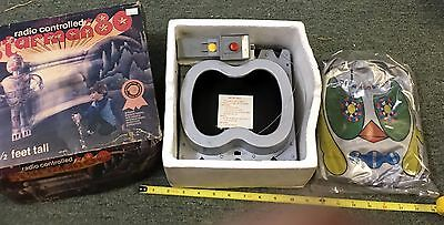 1979 Vintage Radio Controlled Starman 80 3.5 Foot Blow Up Robot New In Box