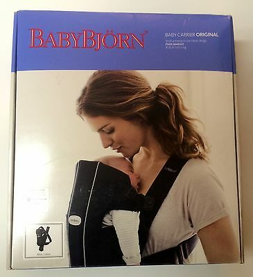 BABYBJORN Carrier Original - Black Cotton, 45% Off, Free Shipping!