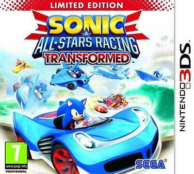 Sonic and All Stars Racing Transformed (Nintendo 3DS) [New Game]
