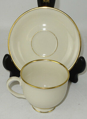 Lenox MANSFIELD Cup & Saucer Set Presidential Collection