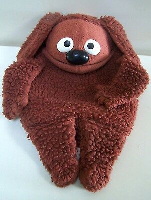 Ancienne Peluche - Rowlf, Muppet Doll - Muppet Show - 1977 Fisher Price Toys -