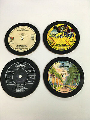 Rod Stewart Singles Collection 45 Great New Drinks COASTER Set