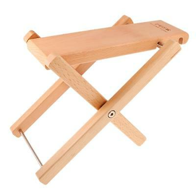Folding Wood Foot Stool Rest for Acoustic Electric Classical Guitars Wood