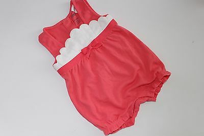 Gymboree Coral Cutie Baby Girl's Size 12-18 Months NWT Shell NEW Romper