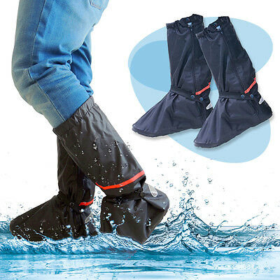 Reusable Rain Snow Shoe Covers Waterproof shoes Overshoes Boot Gear Protector
