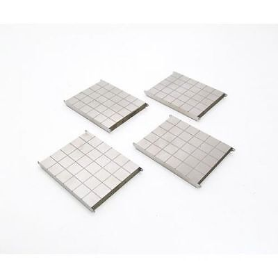 Metal Base Plates 4 Units  1:50 Scale by YCC602-2