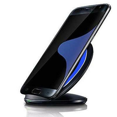 3-Coils Qi Wireless Charger Charging Stand Dock for Samsung Galaxy Note 7 / S7