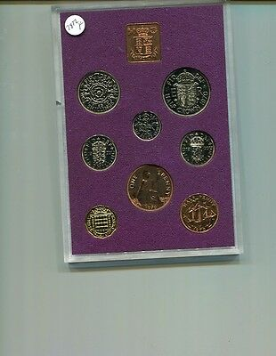 1970 Great Britain 8 Coin Proof Set 7872F
