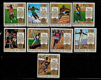 GUINEA 640 - 648 A ** Olympische Spiele
