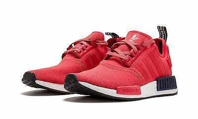e22fb5a61ada8 WOMEN S ADIDAS NMD R1 W S76013 Vivid Red SZ 5-11 DS Mesh Boost Ultra ...