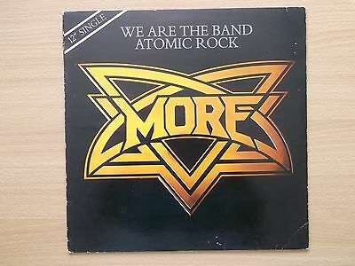 More We Are The Band / Atomic Rock 1981 12 vinyl single