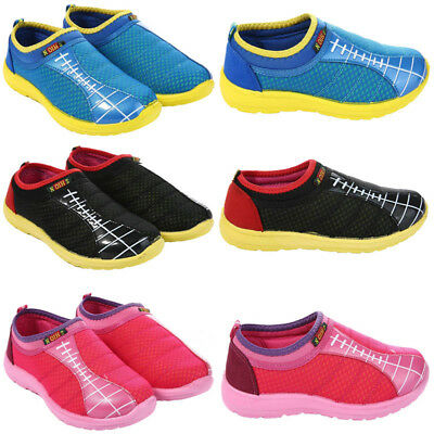 Boys Girl Kids Trainers Shoes Football Children Infant Toddler Casual Shoes size