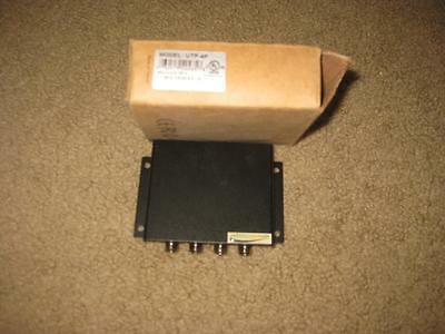 Speco Technologies Utp-4P Cctv 4 Channel Passive Video Receiver Nos