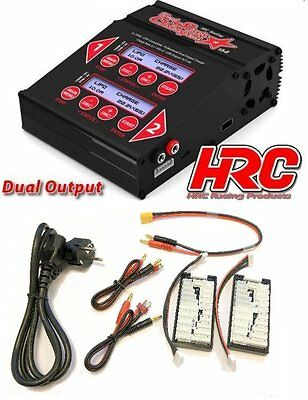 HRC {HRC9361} Dual-Star Charger max. 2 x 10A / 100 Watt - New / original package