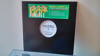"VARIOUS - Brasil Night Vol.4 Sounds Of Brasil&Latin 12"" (BLJ RECORDS 017) JAPAN"