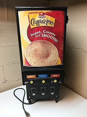 Curtis Cafepc-3 3 Flavor Commercial Cappuccino Dispenser Machine