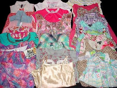USED BABY TODDLER GIRL TOPS T-SHIRT 7T 8T years SPRING SUMMER CLOTHES LOT