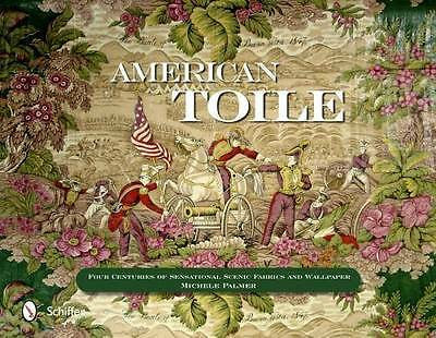 400yrs of American Toile - Scenic Fabric Wallpaper: Reference