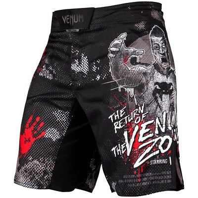 VENUM MMA Fight Shorts, Zombie Return, Training Wettkampf Hosen Short, Grappling