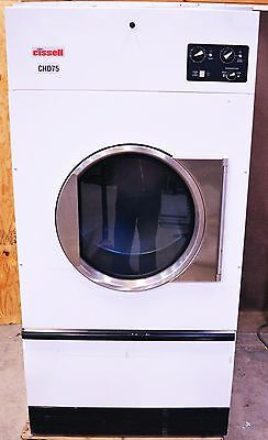Cissell CHD75 Nat Gas Commercial Industrial Clothes Dryer Laundry 75-lb CHD 75