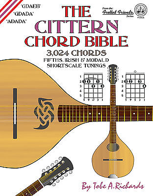 Cittern Shortscale Chord Bible - 3,024 Chords (New 2016 Edition)