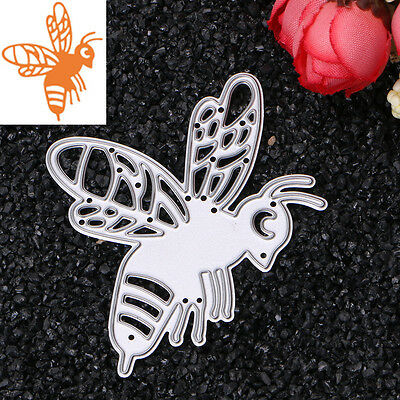 Bee Metal Cutting Dies Stencil For DIY Scrapbooking Embossing Paper Card Craft