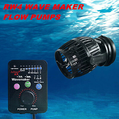 Rw Wave Flow Pump Controller Kit Tank Marine Reef Coral Fish Aquarium Wavemaker