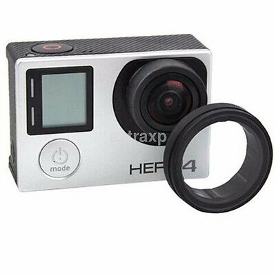 1x Protective Camera Glass UV Lens GoPro Hero 3+ 4 Protector Cover Case CA