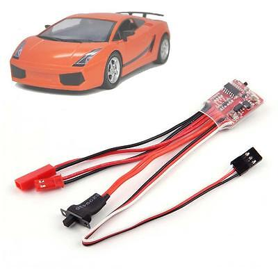 20A ESC Brushed Motor Speed Controller With Brake for RC Cars Boat Tank Truck BO