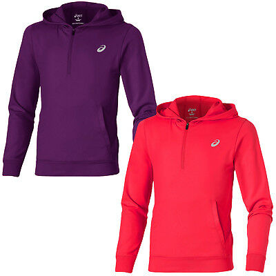 asics Girls Junior Over The Head Hoodie Hoody Pullover - 9/10 Years