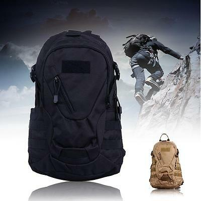 20L Molle Tactical Outdoor Military Backpack Computer Bag For Hunting Travel BO