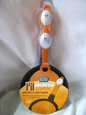 New Mini Pancake Pan & Spatula Egg Handled Set Non Stick Pancakes Crepes Joie