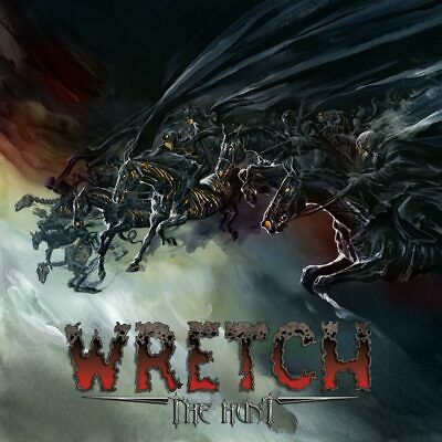 WRETCH - The Hunt US-METAL SIGNED BY JUAN RICARDO