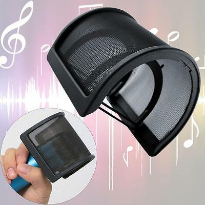 Dual Layer Recording Studio Microphone Mic Windscreen Pop Filter Mask Shields BO