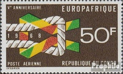 Kongo (Brazzaville) 153 (complete.issue.) unmounted mint / never hinged 1968 Eur