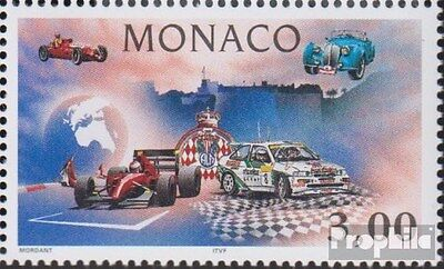Monaco 2336 (complete.issue.) unmounted mint / never hinged 1996 Automobilsport