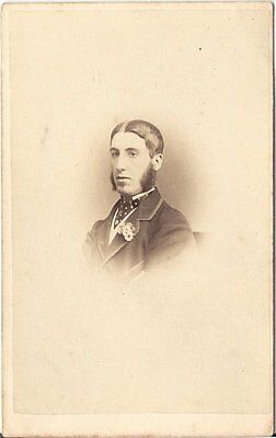 J. Guggenheim CDV photo Herrenportrait - Oxford 1860er