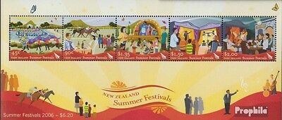 New Zealand block203 (complete.issue.) unmounted mint / never hinged 2006 Sommer