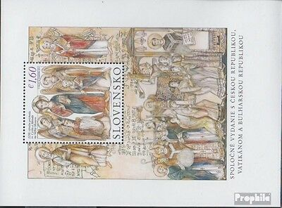 Slovakia Block42 (complete.issue.) unmounted mint / never hinged 2013 Kyrill