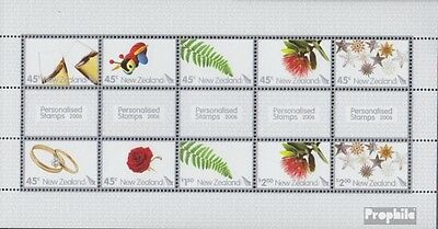 New Zealand 2339-2348 Sheetlet (complete.issue.) unmounted mint / never hinged 2
