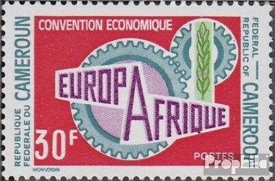Cameroon 633 (complete.issue.) unmounted mint / never hinged 1970 Europafrique