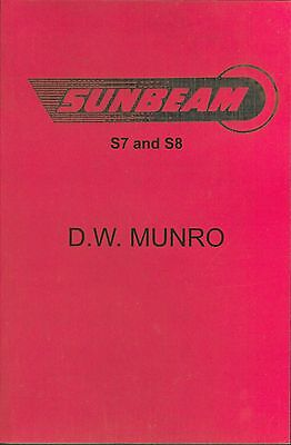 Sunbeam S7 S8 Manual 1954 by DW Munro BSA Sunbeam Shaft Drive ohc Book 500