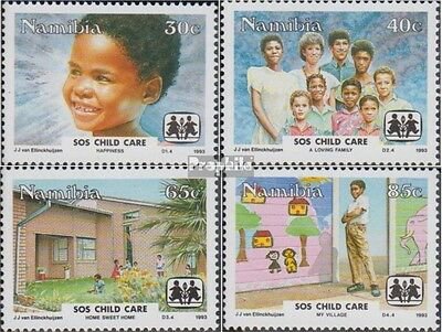Namibia - Southwest 747-750 (complete.issue.) unmounted mint / never hinged 1993