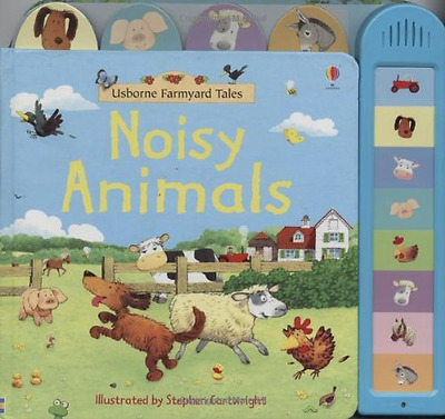 Noisy Animals Book (Farmyard Tales) (Farmyard Tales) - Board book NEW Brooks, Fe