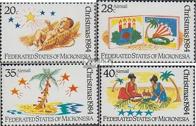 Mikronesien 28-31 (complete.issue.) unmounted mint / never hinged 1984 christmas