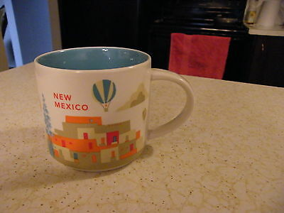 2013 Starbucks State Mug Collection YOU ARE HERE 14oz  New Mexico  NEW-- no box