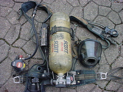 Scott Ap50 4.5 Hp Fire Dept Fireman Firefighter Air Pack Scba 032717-