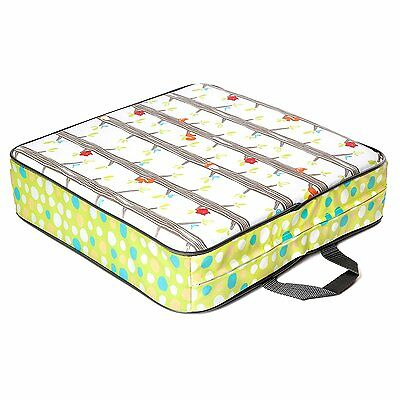 Luv Chicken Portable Booster Seat for Toddlers to Big Kids Forest Critters