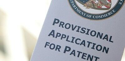 "$109.00   we prepare your legal Provisional ""Patent Pending"" in the USA"