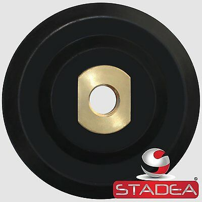 "Stadea 5 inch Rubber Backing Pad Rigid Backer Pad with Backing 5/8"" 11"